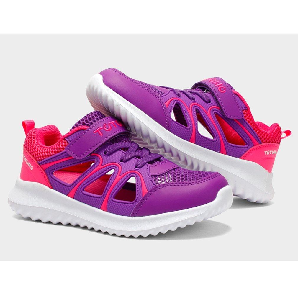 Baskets Gar/çon Chaussures de Sport Fille /Ét/é Sandales Enfants Respirant Chaussures de Running Chaussures de Trekking L/ég/ère Sneakers