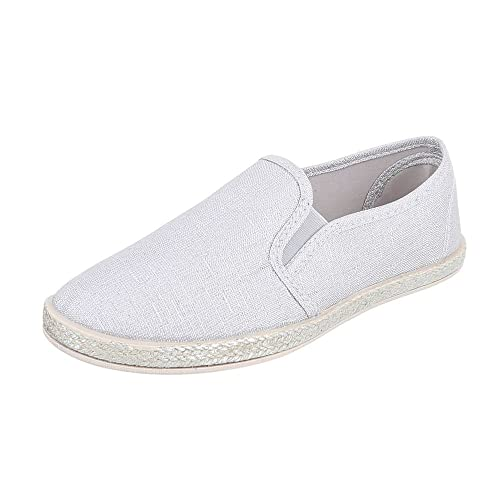 Slipper Damenschuhe Low-Top Moderne Ital-Design Halbschuhe