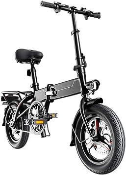 KNFBOK Bicicleta Plegable electrica Bicicleta eléctrica Plegable ...