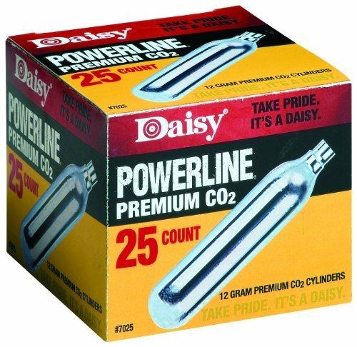 Daisy Powerline Premium CO2 Cylinder 25 count