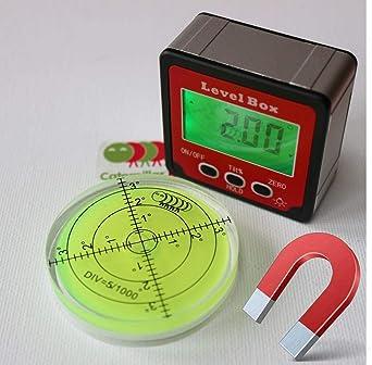 Cierre magnético de nivel Digital de burbuja medidor de ...