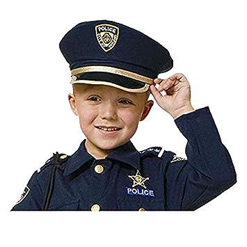 Dress up America Juego de simulación Policía Hat para niños  Amazon.es   Juguetes y juegos e631f1bfa8f