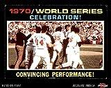1971 Topps # 332 1970 World Series - Summary - Celebration Baltimore / Cincinnati Orioles / Reds (Baseball Card) Dean's Cards 5 - EX Orioles / Reds