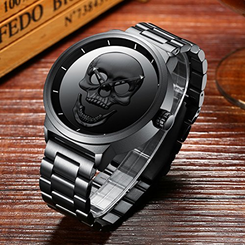 Mens-Black-Big-Face-Watches-Men-30M-Waterproof-Large-Luxury-Casual-Stainless-Steel-Mesh-Wrist-Watch-for-Men