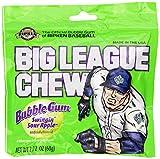 Best Bubble Gums - Big League Chew, Swingin' Sour Apple Bubble Gum Review