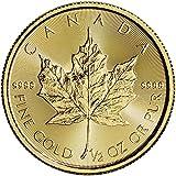 2016 CA Canada Gold Maple Leaf (1/2 oz) $20 Brilliant Uncirculated Royal Canadian Mint