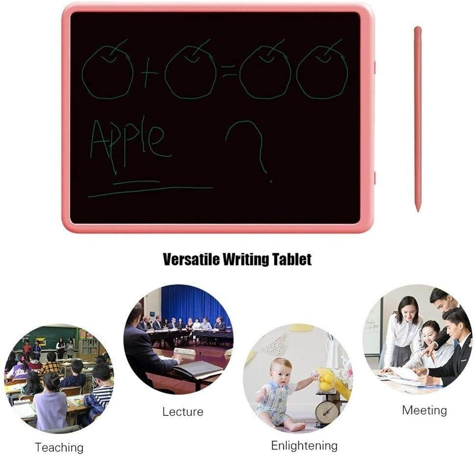 Edmend 11inch LCD Business Writing Tablet Elektronisches Zeichenbrett Tablet Pad LCD-Tablet (Color : Grey2) Pink2