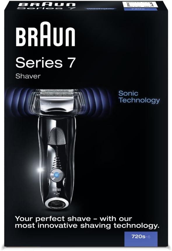Braun Series 7 720s-7 - Afeitadora (AC/batería, Ión de litio ...