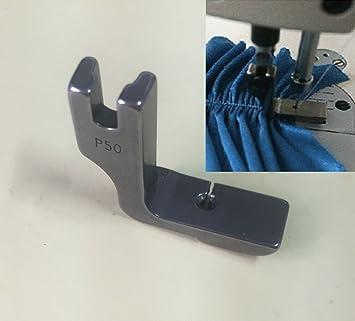 honeysew Industrial máquina de coser accesorios para máquina de coser Presser Foot soporte de acero funda de pie prensatelas P50: Amazon.es: Hogar