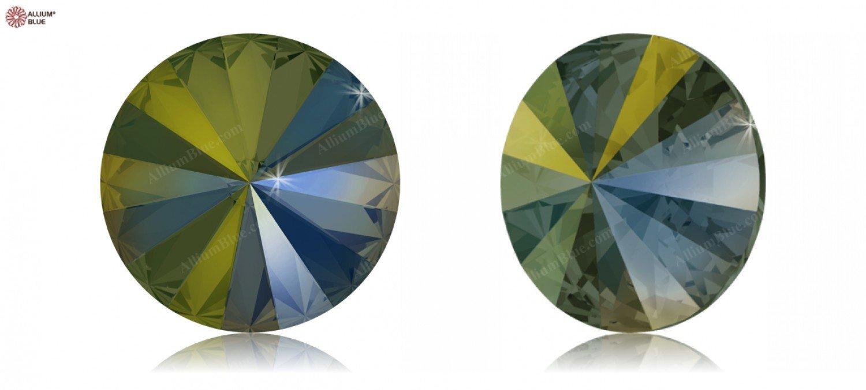 12.00 mm Swarovski Crystals 5062275 Round Stones 1122 MM 12,0 CRYSTAL IRIDESGR F, 144 Pieces