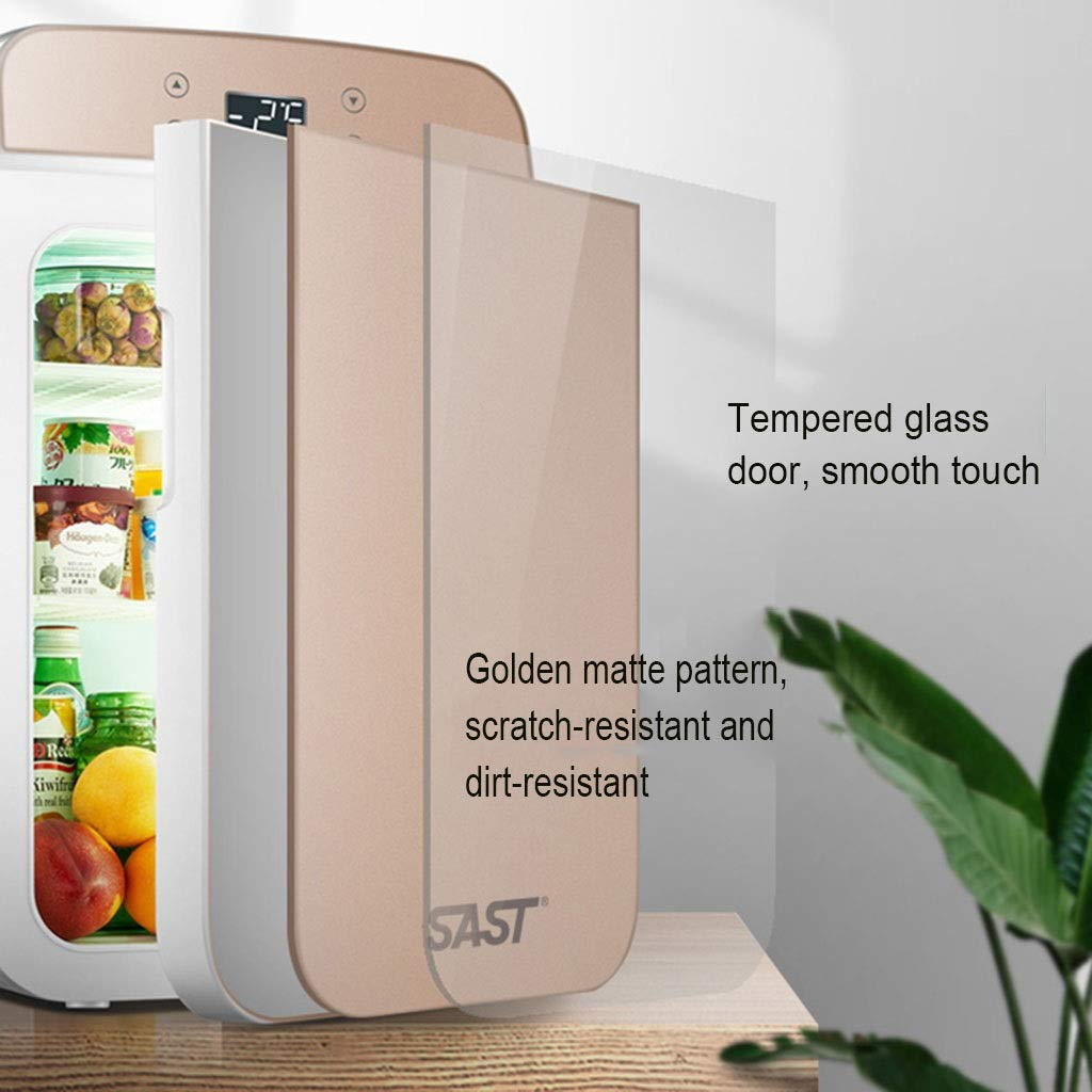 Outdoor Refrigerators Household Portable Refrigerator Insulin Refrigerator Portable Household Medicine Refrigerator Car Travel 25L (Color : Gold, Size : 332743cm) by Outdoor Refrigerators (Image #4)