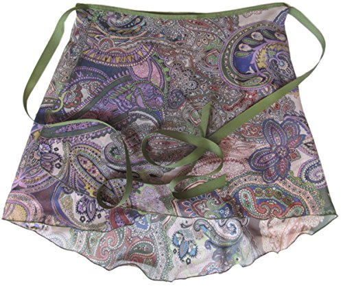 Sheer-Delights Paisley Sheer Chiffon Wrap Ballet Skirt (Small/Medium)