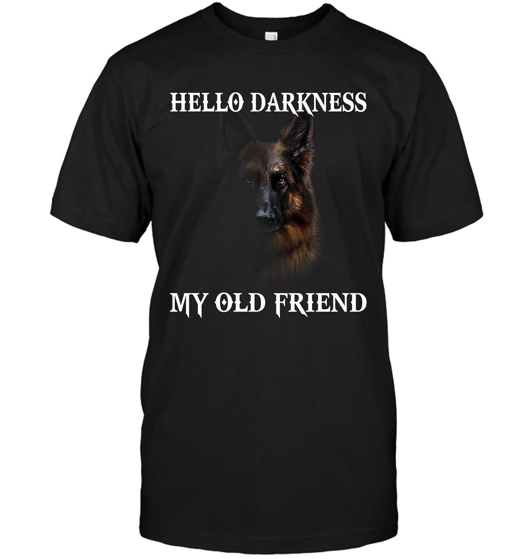 miacanvas German Shepherd Hello Darkness