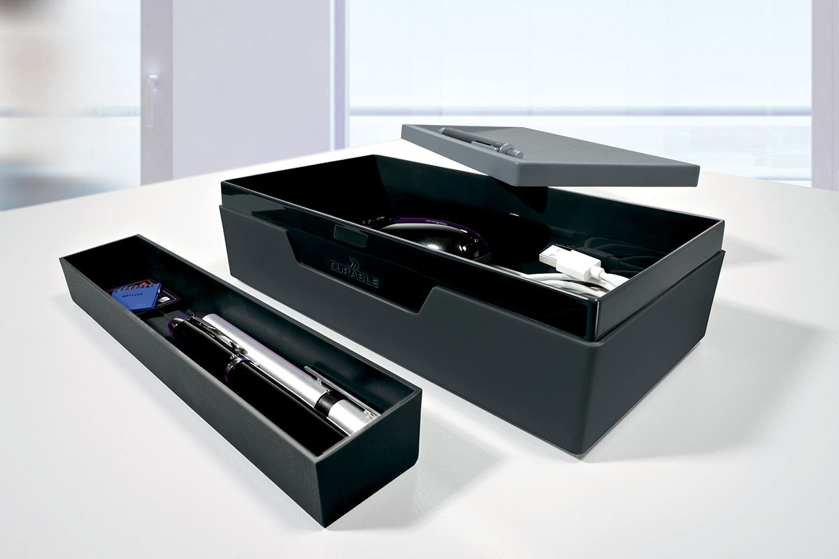 761412 Durable Simple Pencil Holder purple