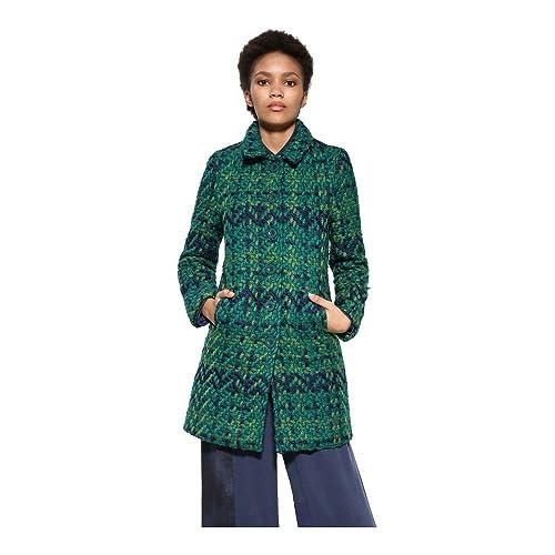 DESIGUAL Nini Abrigo verde de las mujeres