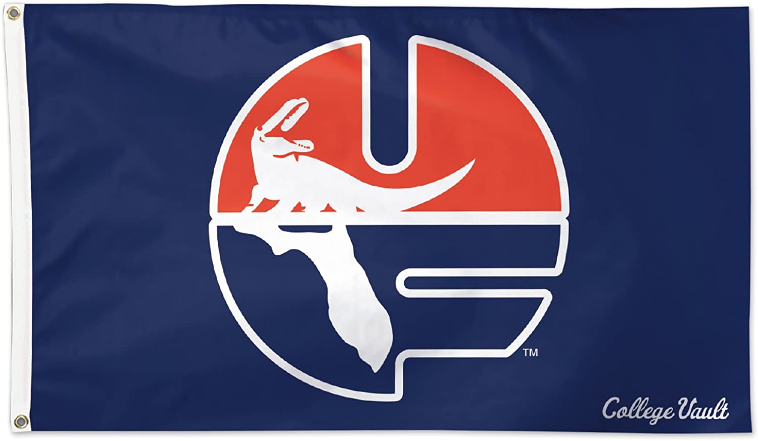 Wincraft University of Florida Gators UF Pell Blue NCAA Football 3 x 5 Foot Flag