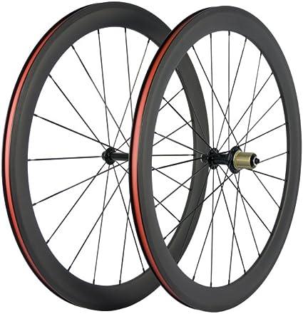 700C 50mm Road Bike Wheels Clincher Road Bicycle Wheels Carbon Wheelset
