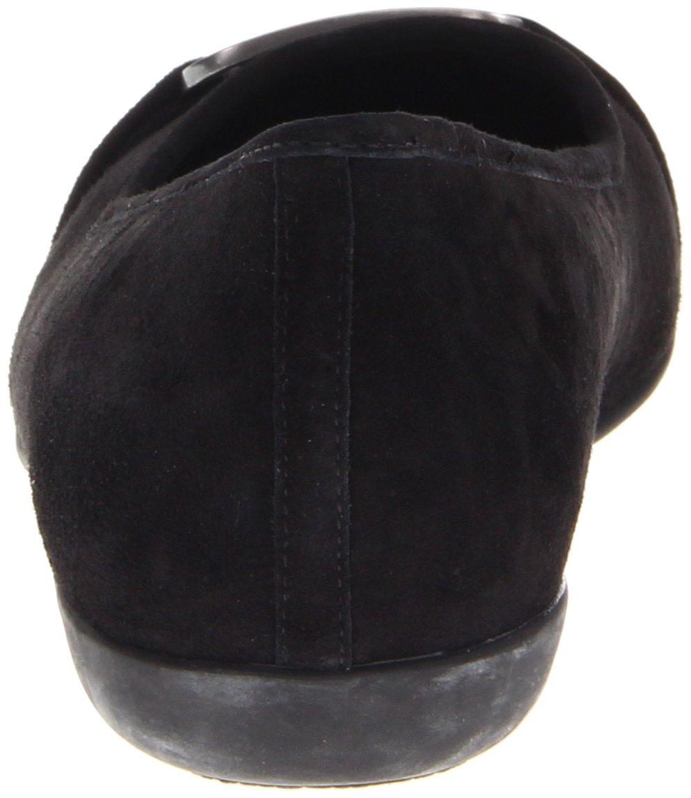Trotters Women's Sizzle Signature Ballet Flat B0073E63VG 7.5 SS US|Black Suede