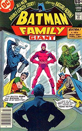 Batman Family, The #16 FN ; DC comic book