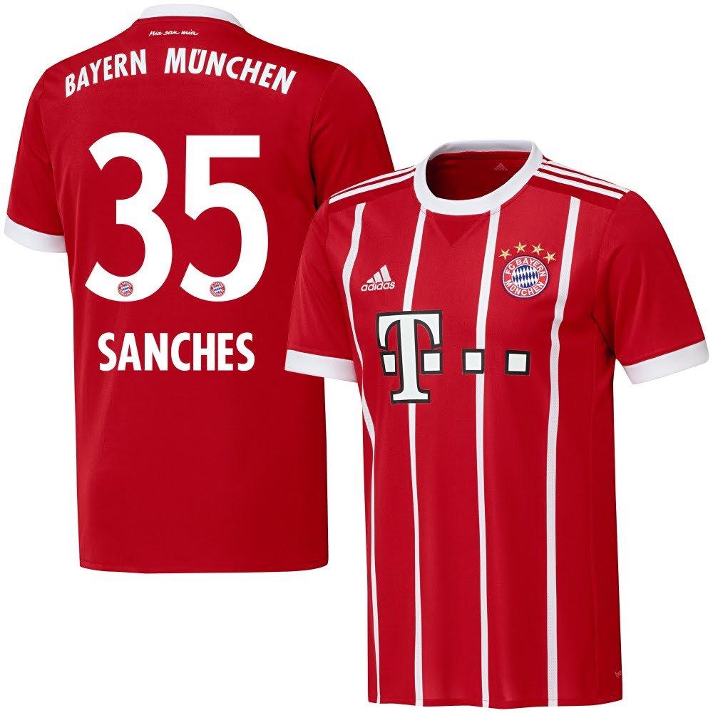 Bayern München Home Trikot 2017 2018 + Sanches 35