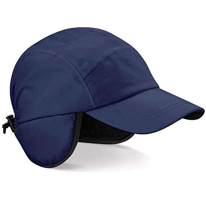 Beechfield - Cappello Impermeabile con Visiera - Uomo (Taglia unica) (Blu  navy) f6fa8284b1c7