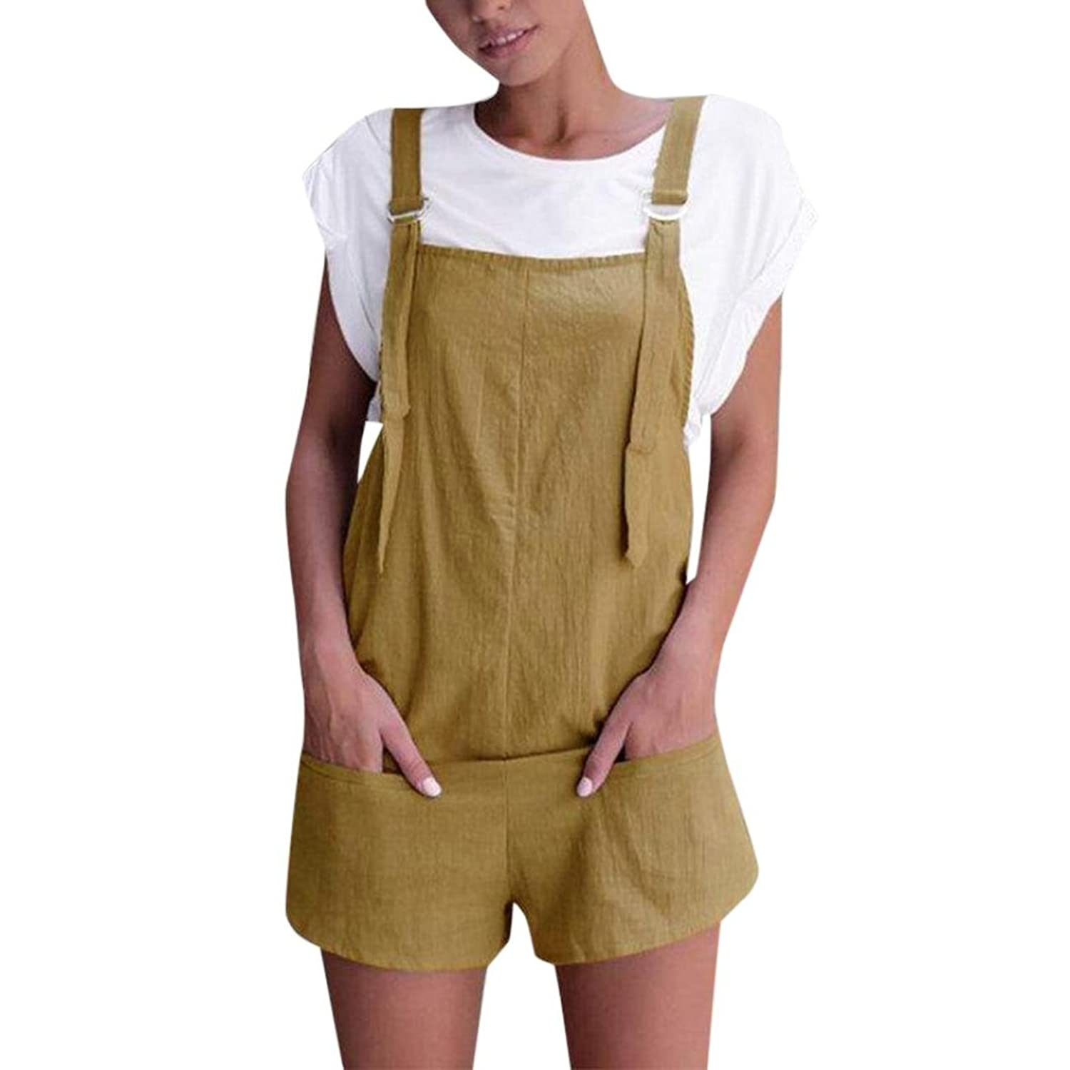 best service 0c820 994fb Bright_99 Jumpsuits Damen Playsuit Kurz Overalls Strand ...