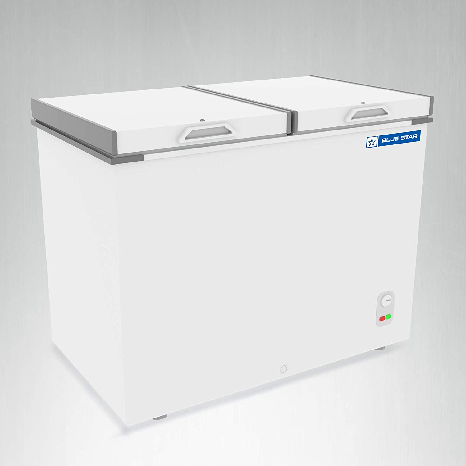 Blue Star CHF500 Double Door Deep Freezer (484 L, White)