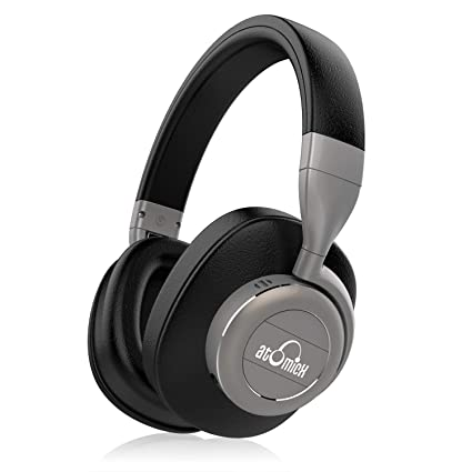 2bb37fcb3c8 Active Noise Cancelling Headphones Bluetooth Headphones with Built-in Mic Wireless  Headphones Over Ear,
