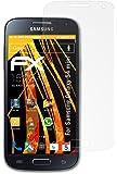 atFoliX Displayschutzfolie Samsung Galaxy S4 mini GT-i9190 (3 Stück) - FX-Antireflex, antireflektierende Premium Schutzfolie