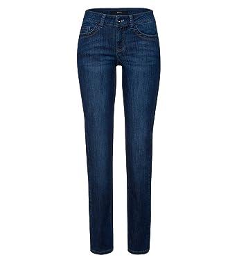 16a339173d61 zero Damen Jeans im Five-Pocket-Style 32 inch 302683 mid blue washed ...