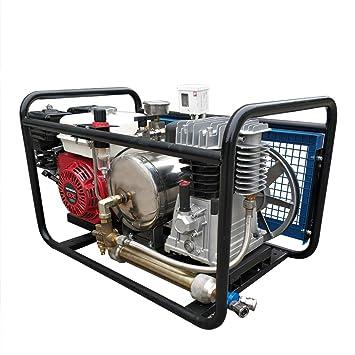 HPDAVV Compresor de Aire Tercer Aire pulmonar, compresor de Buceo Hookah con Manguera y respirador, Tanque de Gas, Video operativo: Amazon.es: Coche y moto