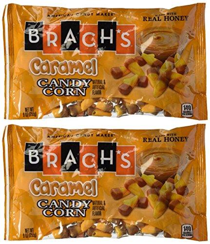 Brachs Fall Flavors Caramel Candy Corn (9 oz. Bag) (Pack of 2) (Corn Candy Fall)