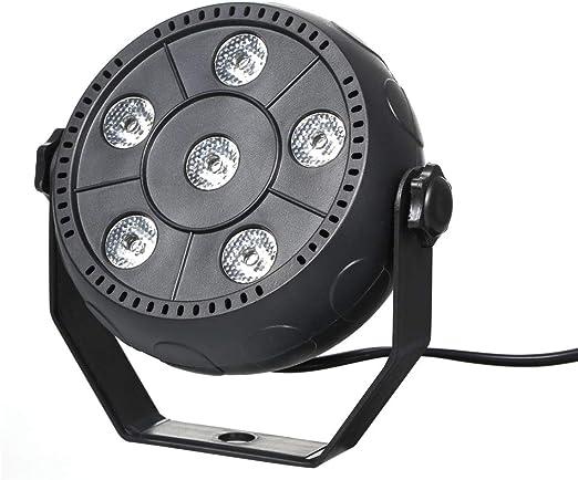 Festnight Mini 13 W 6 LED RGB 3 en 1 Lavar Efecto de la Fase luz