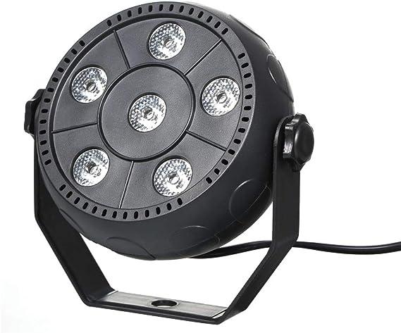 Festnight Mini 13 W 6 LED RGB 3 en 1 Lavar Efecto de la Fase luz ...