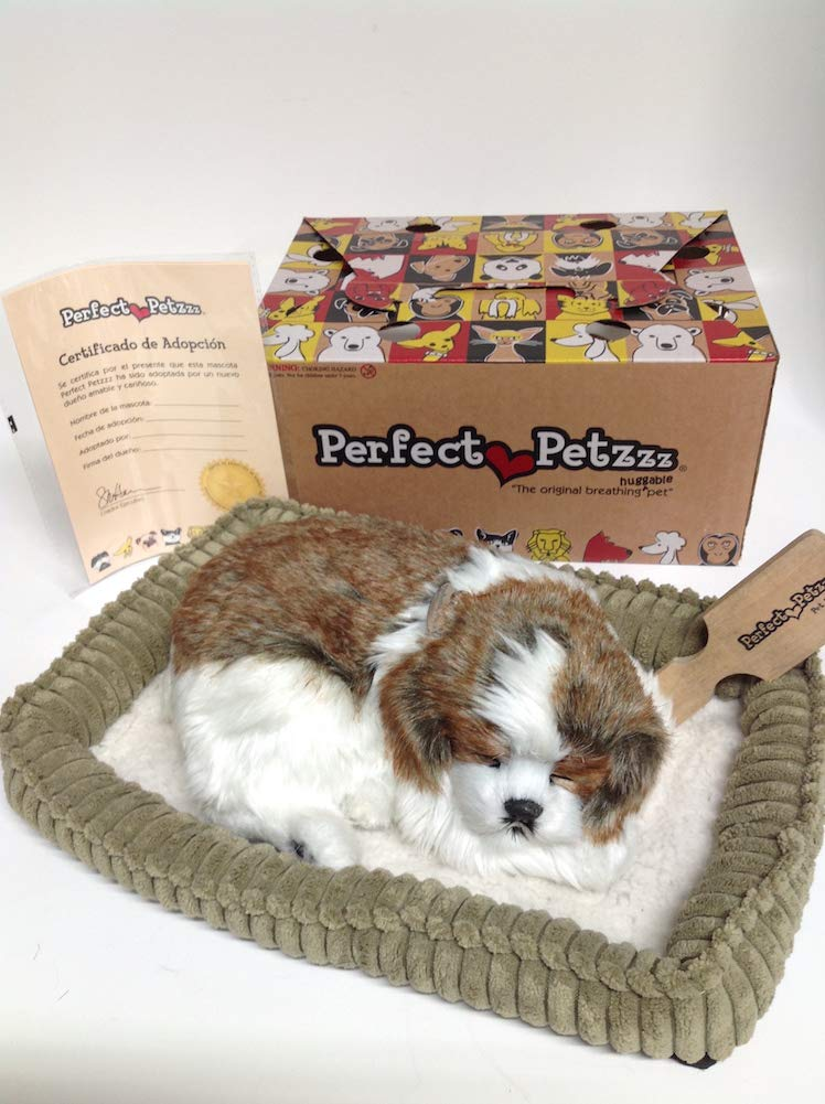 Perfect Petzzz Huggable Breathing Puppy Dog Pet Bed Shih Tzu by Perfect Petzzz (Image #1)