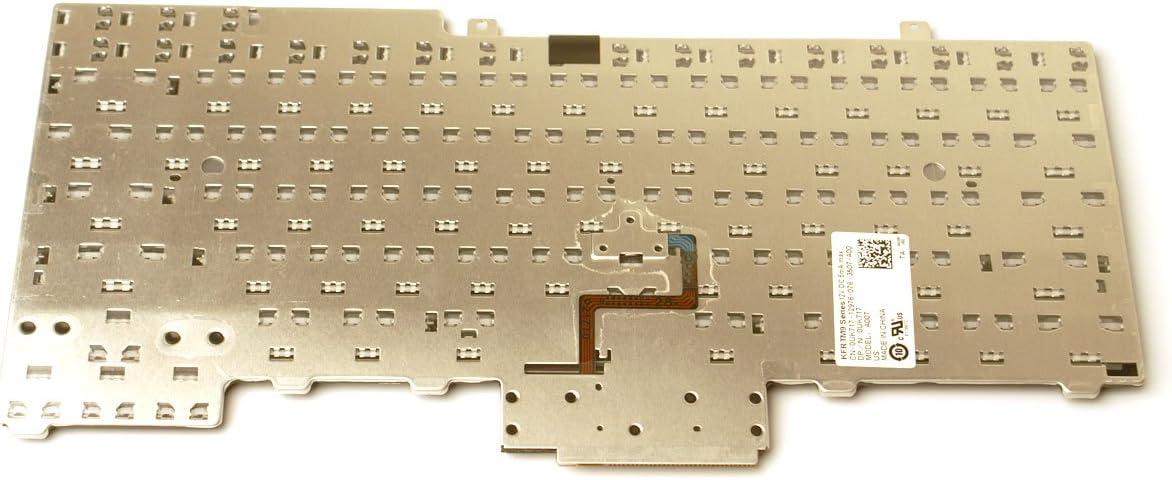 EMD BLK Model A007 KYBD Genuine Dell UK717 for Latitude E6400 E6410 E5500 E5510 E6500 E6510 E5410 and Precision M2400 M4400US Notebook//Laptop 83-Key Keyboard Series Compatible Part Numbers: UK717 83 US ENG 0UK717