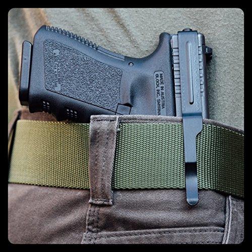 ClipDraw GS-B Glock 9mm/.40/.357 Gun Belt, (Gun Clip Holster)