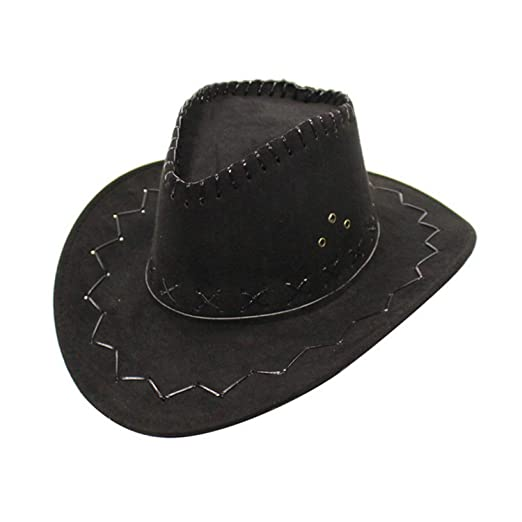 b1e8448d04c22 Amazon.com: HEWPASKE 2018 Western Cowboy Hat for Kid Boys Girls ...