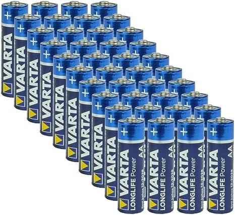 Varta AA Alkaline Batteries 40 Pack