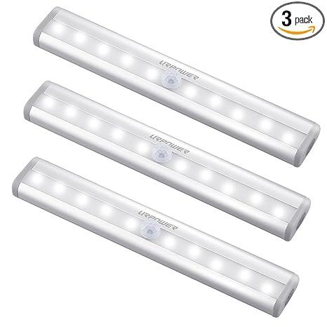 Etonnant URPOWER Motion Sensor Light, 10 LED Bulbs Battery Operated Wireless Motion  Nightlight Portable Magnetic Security