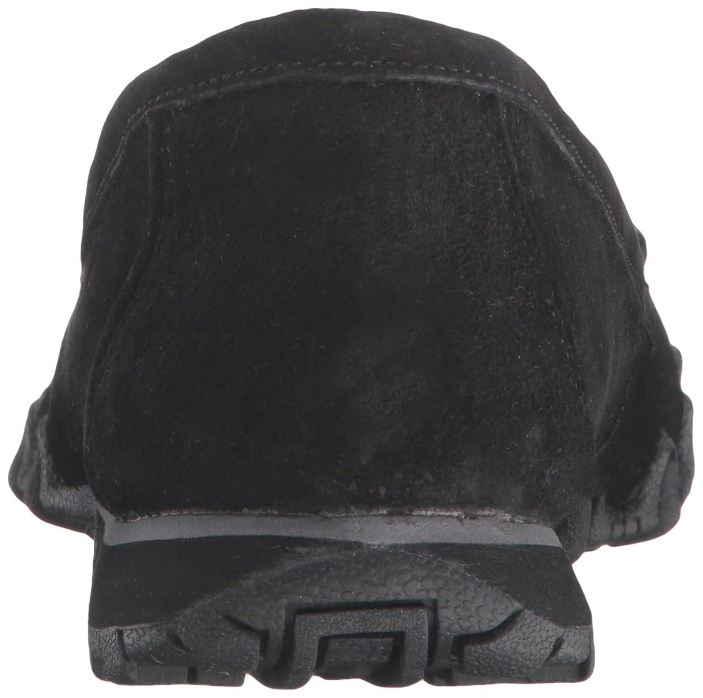 Skechers 48930 - Zapatilla Baja de Ante Hombre, Color Negro, Talla 36.5 C/D EU