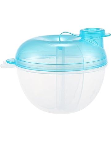 TOOGOO Formula dispensador, para no Derramamiento del bebe del dispensador de leche en polvo y