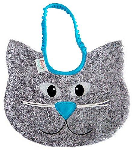 Zigozago - Bib CAT; Tie: Elastic; One Size; Color: Blue