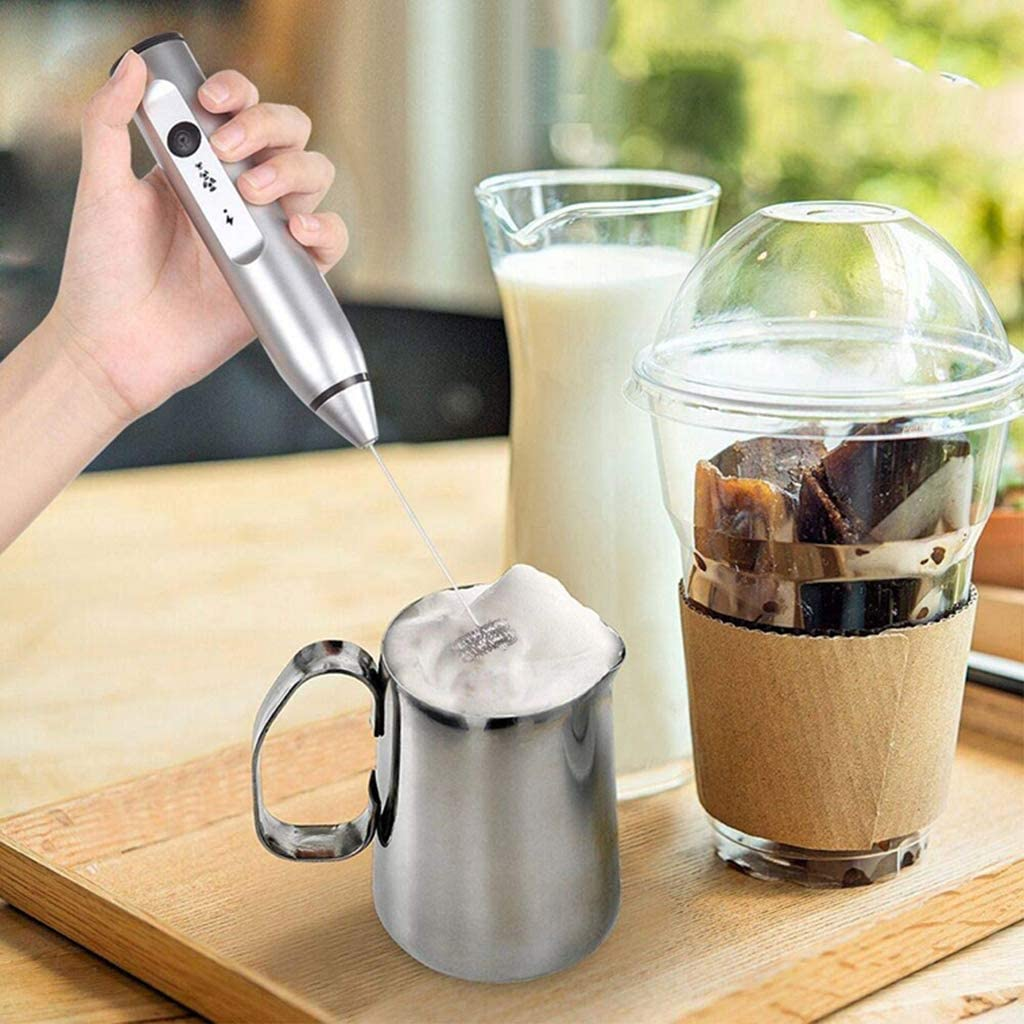 Mini Blender Foamer for Cappuccino Latte Matcha and Coffee Foam Maker Battery Powered Electric Drink Mixer Whisk Frappe SM SunniMix Handheld Milk Frother