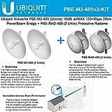 Ubiquiti PBE-M2-400 (x2) PowerBeam 18dBi airMAX 150+Mbps 20km +PBE-RAD-400 (x2)