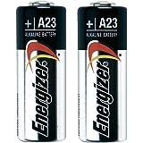 Energizer Alkaline Batteries A23 MN21 LRV08 GP23A 12V - Twinpack