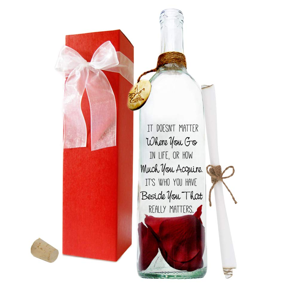 Message In A Bottle ® ''CONTENT'' Personalized Gift by Message In A Bottle