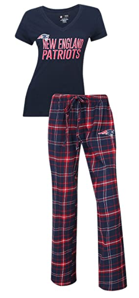 """a5648c2c New England Patriots NFL """"Game Day"""" Women's T-shirt & Flannel  Pajama"""