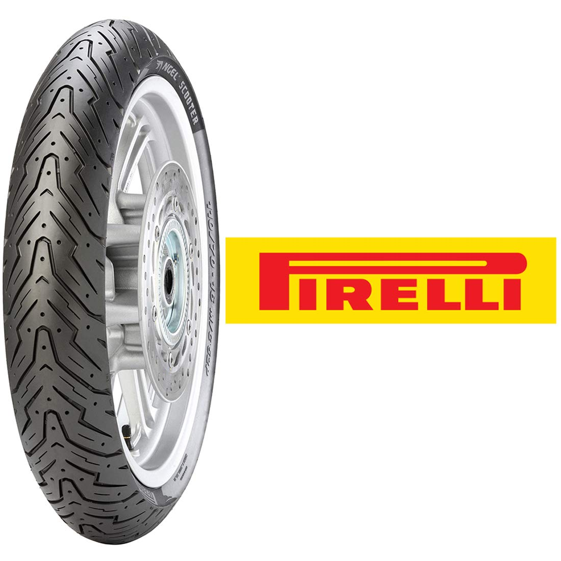 Pirelli Angel Front Scooter Tire (110/70-12) by Pirelli