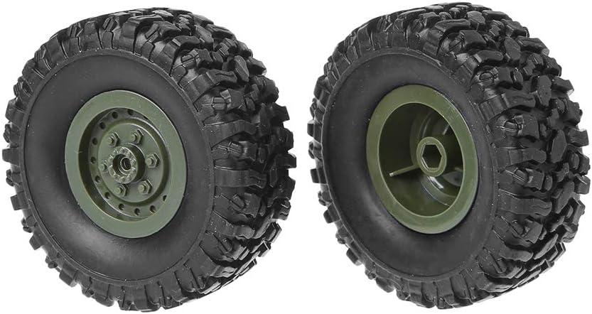 Lamdoo Trailer Chassis Kit Ruota di scorta per WPL 1//16 B36 B36 B36K B36KIT Camion Militare RC Auto Accessori Fai da Te